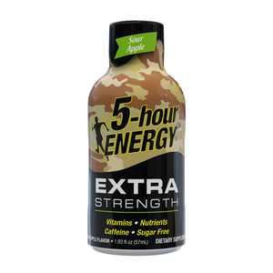 5-hour ENERGY Shot, Extra Strength, Sour Apple, 1.93 oz.