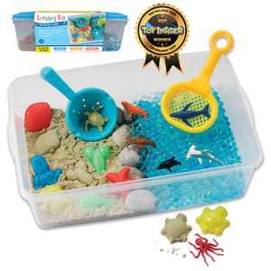 Creativity for Kids Sensory Bin Ice Cream Shop- Child Craft Activity for Boys and Girls