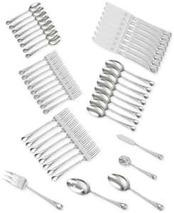 Zwilling TWIN Brand Provence 18/10 Stainless Steel 45-Pc. Flatware Set, Service for 8
