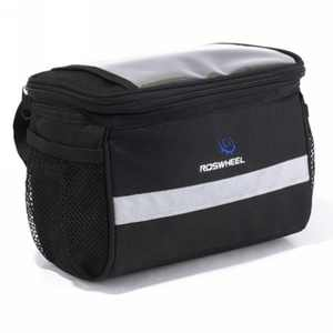 Roswheel TSV Bike Handlebar Bag Bicycle Pannier Frame Tube Outdoor Cycling Pouch Front Basket
