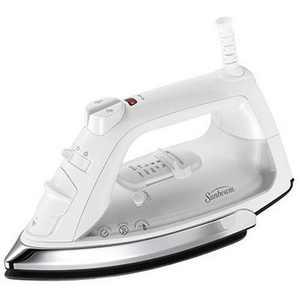 Sunbeam Classic 1200 Watt 8' 360-degree Swivel Cord White/Clear