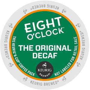 Eight O'clock The Original Decaf, K-Cup Portion Pack for Keurig Brewers (24 Count) (1x16oz)