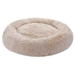 """30"""" Calming Ultra Soft Shag Faux Fur Dog Bed Comfortable Donut Cuddler for Medium Small Dogs and Cats,Self-Warming and Washable"""