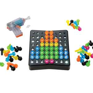 Educational Insights Design & Drill BrightWorks  84-Piece Light Up Drill Set, STEM Learning with Toy Drill: Ages 3+