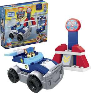 Mega Bloks Paw Patrol Chase's City Police Cruiser GYJ00, Building toys for toddlers (31 Pieces)