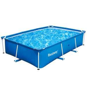 "Bestway 9.8' x 6.7' x 26"" Deluxe Splash Kids Ground Swimming Pool (Pool Only)"