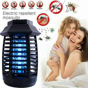Electric Mouito Zaper Lamp Indoor Outdoor 360Coverage Bug Zapper Electronic,No Radiation with Hook for Home, Bedroom, Kitchen