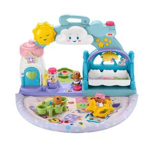 Little People 1-2-3 Babies Playdate Musical Playset with 3 Black Baby Figures