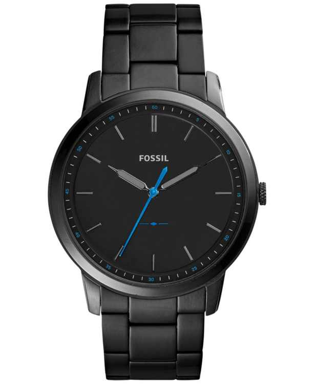 Men's The Minimalist Black Stainless Steel Bracelet Watch 44mm FS5308