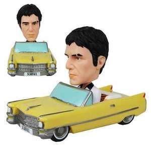 Funko Scarface White Suit Version Wacky Wobbler Bobble Head Car