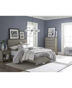 Tribeca Bedroom Set, 3-Pc. Set (Queen Bed, Chest & Nightstand), Created for Macy's