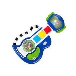 Baby Einstein Rock, Light & Roll Guitar Musical Toy for Infant Age 3 months +