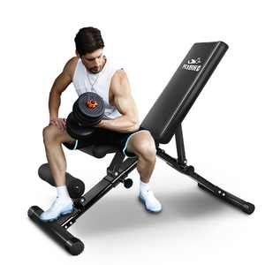 FLYBIRD Adjustable Weight Bench with 620 Lbs. Weight Capacity Incline/Decline Home Gym Workout