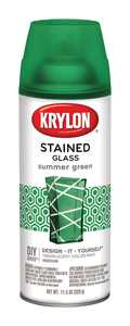 Krylon Stained Glass Paint 11.5oz Summer Green