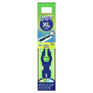 Swiffer Sweeper XL Starter Kit (1 Sweeper, 8 Dry Pads, 2 Wet Pads)