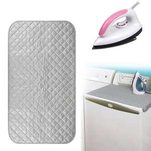 Ironing Blanket Ironing Mat, Portable Travel Ironing Pad,Heat Resistant Pad Cover for Washer,Dryer,Table Top,Countertop,Ironing Board for Small Space (45x80cm