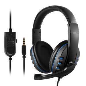 Anself 3.5mm Wired Gaming Headphones Over Ear Game Headset Noise Canceling Earphone with Microphone Volume Control for PC Laptop Smart Phone