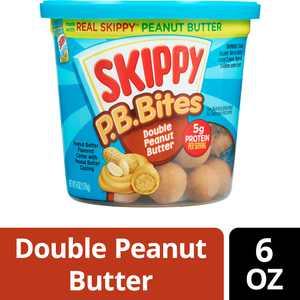SKIPPY P.B. Bites, Double Peanut Butter, 6 oz