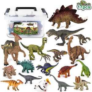 Jumper Kids Dinosaurs Party Action Figure Set, 17 Pieces