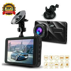 "Dual Lens 4"" Car DVR 1080P FHD Dash Cam Video Recorder Night Vision Camera"