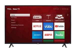 "TCL 50"" Class 4K UHD LED Roku Smart TV 4 Series 50S421"
