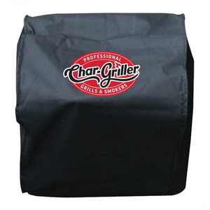 Char-Griller Table Top Grill and Smoker Cover, Black, 2455