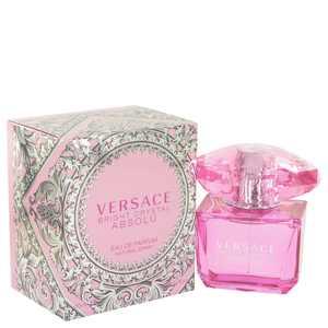 Versace Bright Crystal Absolu Eau De Perfume for Women, 3 oz