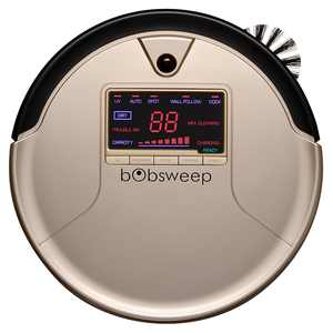 bObsweep - Bob PetHair Robot Vacuum and Mop - Champagne