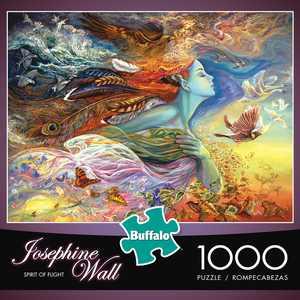 Buffalo Games - Josephine Wall - Spirit of Flight - 1000 Piece Jigsaw Puzzle