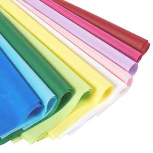 Colored Tissue Paper for Gift Wrapping Bags, 120 Sheets for DIY Crafts, 20 x 26 in, 10 Colors