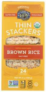 Lundberg Family Farms Rice Ck Brn Sugar Free Thn Stk, 6 Oz