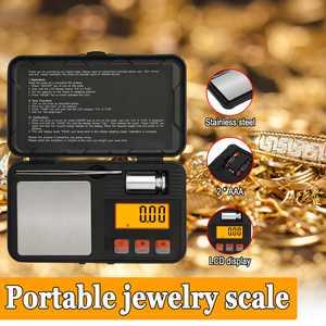 Pocket 200g x 0.01g Digital Jewelry Gold Coin Gram Balance Weight Precise Scale