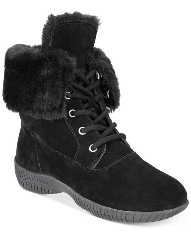 Angiee Lace-Up Cold Weather Boots, Created for Macy's