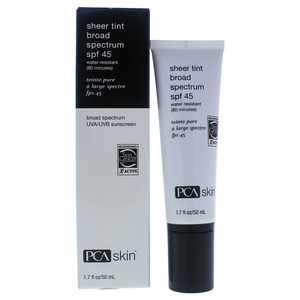 PCA Skin Sheer Tint Broad Spectrum SPF 45, 1.7 Fl Oz