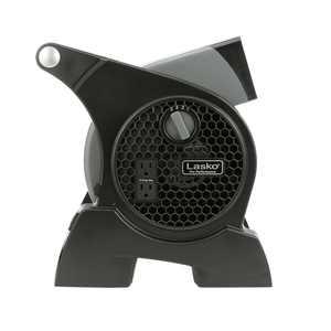 Lasko Pro-Performance High Velocity Utility 3-Speed Fan, Model #4905, Black
