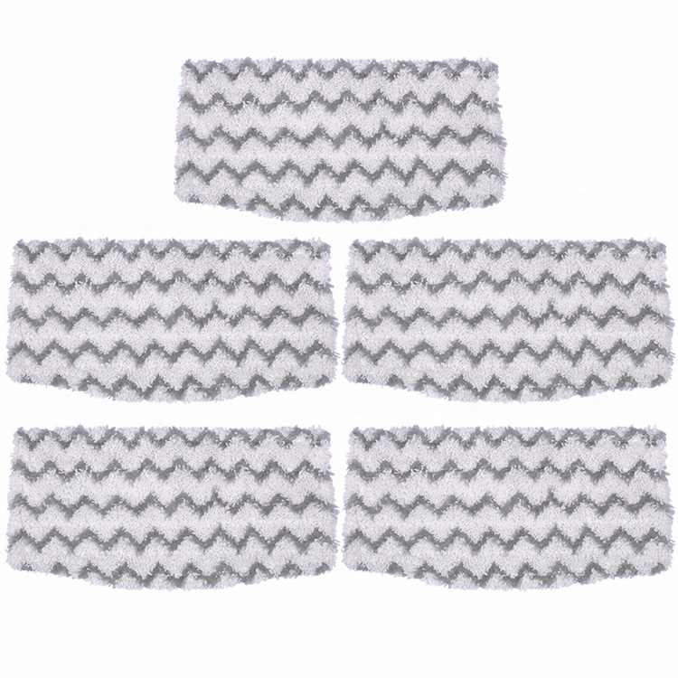 Steam Mop Pads Replacement for Shark Dirt Grip Microfiber Pads S1000 S1000A S1000C S1000WM S1001C Vacuum Cleaner, 5 Packs