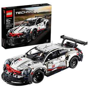 LEGO Technic Porsche 911 RSR 42096 Race Car Building Set (1580 Pieces)