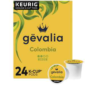 Gevalia Colombian Coffee K-Cup Pods, 24 ct Box