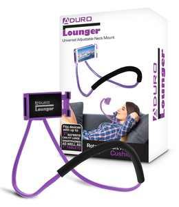 Aduro Lounger Universal Multi-Purpose/ Neck Phone Mount Pink