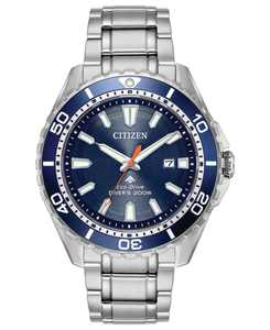 Eco-Drive Men's Promaster Diver Stainless Steel Bracelet Watch 44mm