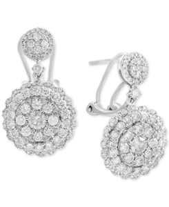 Rock Candy by EFFY Diamond Cluster Drop Earrings (2-1/10 ct. t.w.) in 14k White, Rose, or Yellow Gold