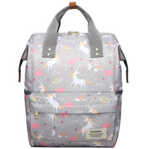 Baby Diaper Bag, Vbiger Multi-Function Travel Backpack Nappy Tote Bags for Mom & Dad, Large Capacity, Gray
