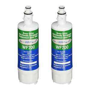 Replacement Aqua Fresh WF700 Refrigerator Water Filter For LG ADQ36006101 & Kenmore 9690 (2 Pack)