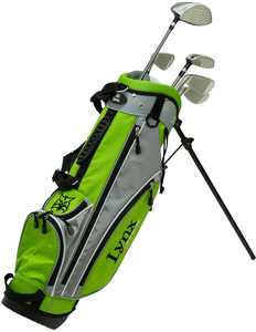 Lynx Green Junior's Golf Complete Set with Bag (Age 5-8)