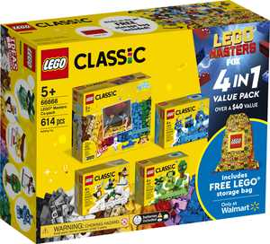LEGO Masters Co-pack 66666 Creative Building Toy Value Set (613 Pieces)