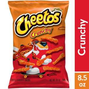 Cheetos Crunchy Cheese Flavored Snacks, 8.5 oz Bag
