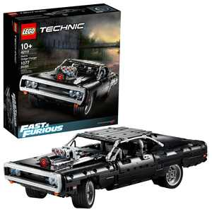 LEGO Technic Fast & Furious Dom's Dodge Charger 42111 Race Car Toy Building Set (1077 Pieces)
