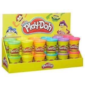 Play-Doh Assorted 24ct Cans Bulk Case Original Interactive Toys 4oz Hasbro