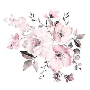 Flower Wall Stickers Wall Art Stickers Wall Decals Floral Sticker Home Decor