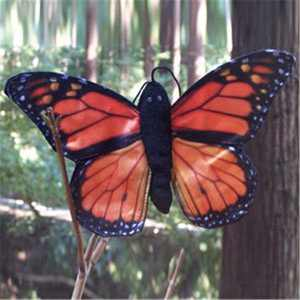 Sunny Toys FG7240 8 In. Finger Butterfly Monarch Puppet